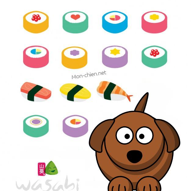 wasabi chien